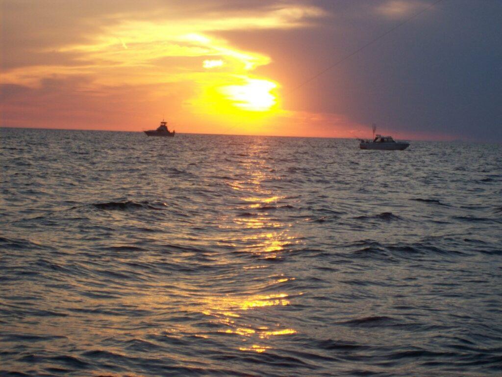 Charter Ships on Lake Michigan